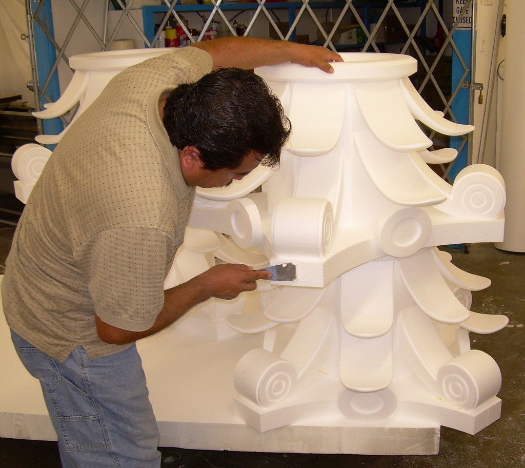Foam Sculpting