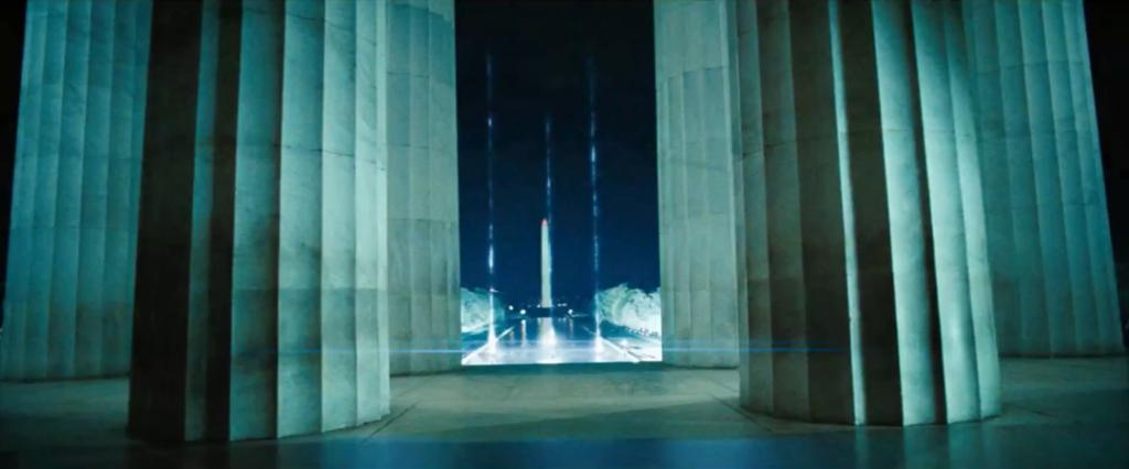 Transformers 3: Dark Side of the Moon foam columns